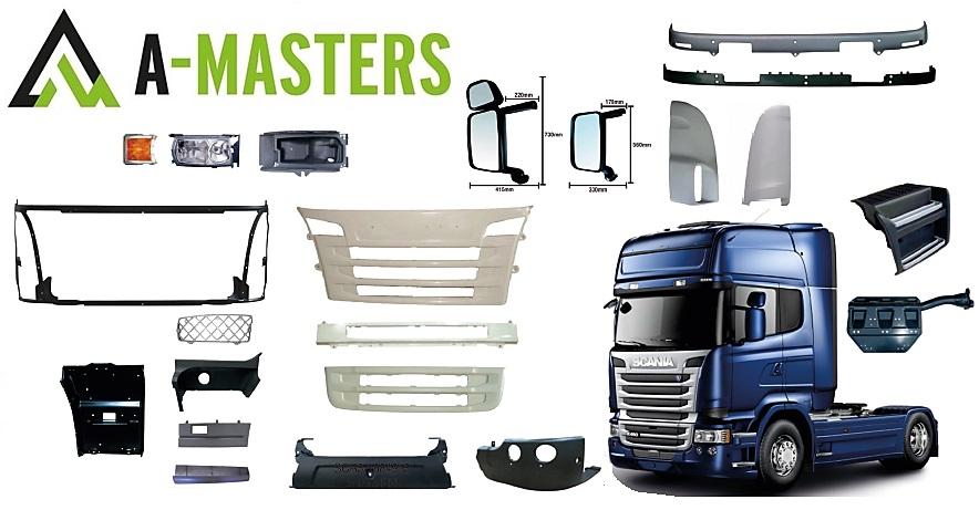 Scania body parts virsbūves daļās